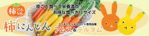 柿にんじん、アムス&テルダム