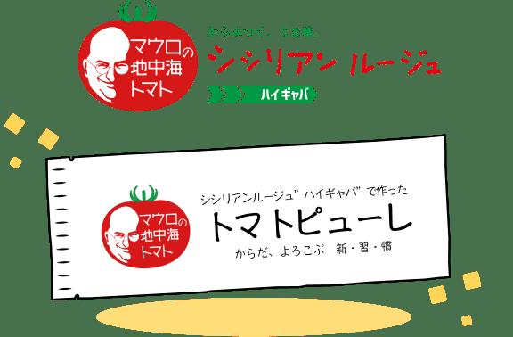 シシリアンルージュハイギャバで作ったトマトピューレ